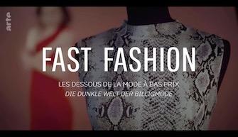 FAST FASHION, LES DESSOUS DE LA MODE À BAS PRIX
